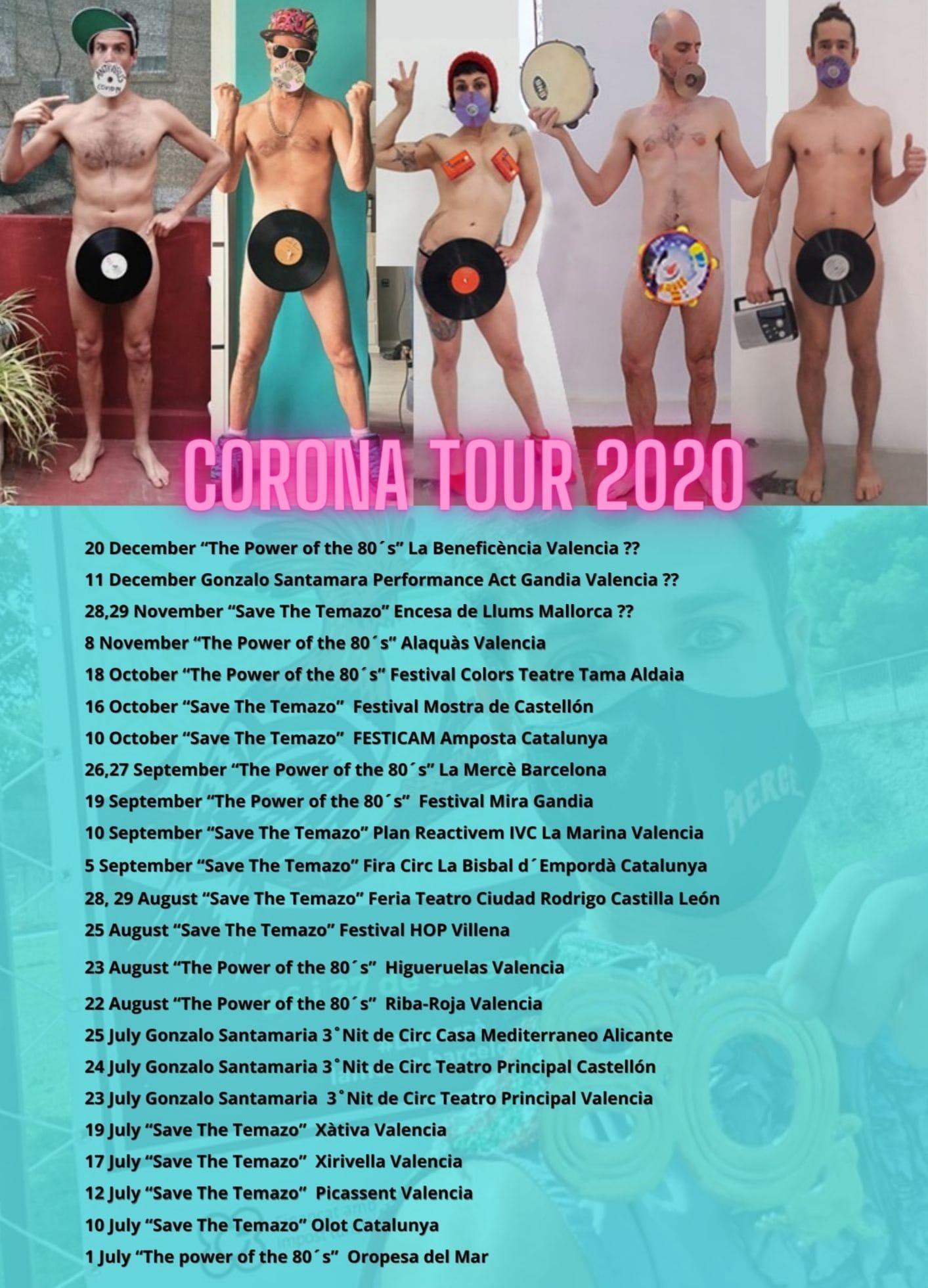 Corona Tour 2020